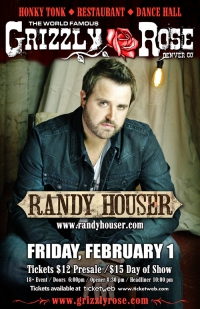 Opening for Randy Houser