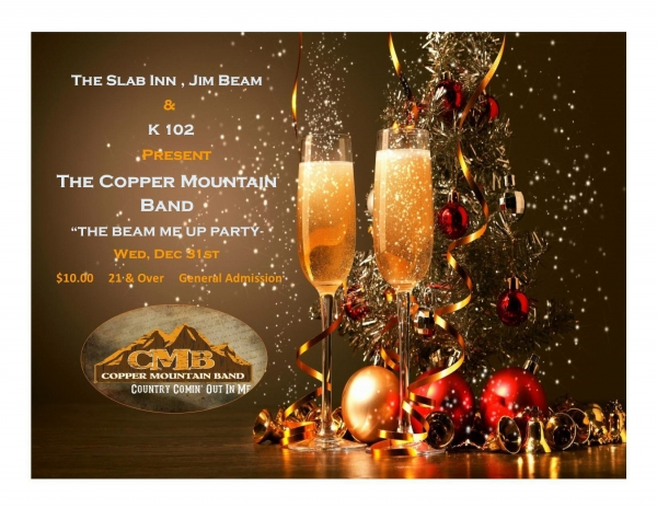 Beam Me Up New Year's Eve Party with CMB
